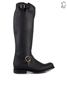 Engineer High - 14 - Primeboots - Old Crazy Black - Everyday Shoes - Shoes - Women - Nelly.com