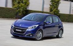 Scarica sfondi Peugeot 208, 2017 auto, nuova 208, due volumi, le auto francesi, Peugeot