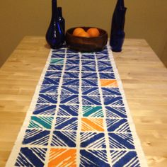 My DIY table runner