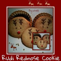'Red Nose Cookies'