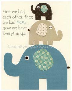 Baby boy nursery art Nursery print Baby by DesignByMaya on Etsy, $17.00
