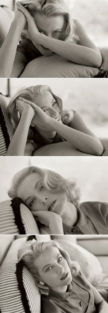 Grace Kelly on vacation in Jamaica, 1955, from The Grace Kelly Years. Photographs by Howell Conant.