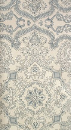 © wallpaper for you © Persia Wallpaper Indigo – James Dunlop Textiles Motifs Textiles, Textile Prints, Textile Patterns, Mobile Wallpaper, Wallpaper Backgrounds, Iphone Wallpaper, Gray Wallpaper, Pattern Art, Pattern Design