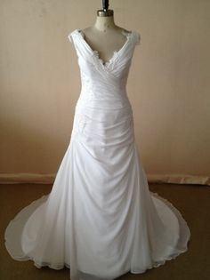 #plussizebridalgowns  - Off The Shoulder Plus Size Wedding Gowns. We can make ANY changes to this designs that you need to make it your own.  Meanwhile sleeveless A-line Wedding Gowns for the Plus Size Bride can be easily found on our site at www.dariuscordell.com/featured/plus-size-wedding-dresses-bridal-gowns/