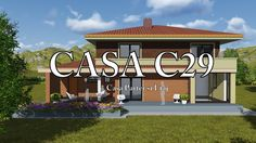 Casa C29 - Casa Parter si Etaj Giroc Timis 1, Neon Signs, The Originals, Outdoor Decor, Youtube, Home Decor, Houses, Decoration Home, Room Decor