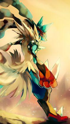 Mega Lucario - #pokemon iPhone wallpaper @mobile9