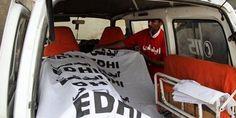 #Jamshoro: Five killed in ambulance, truck collision