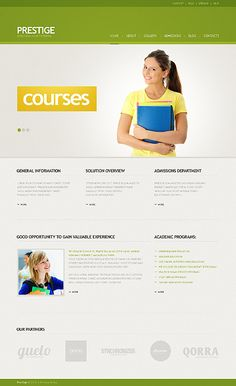 Prestige University WordPress Themes by Mira