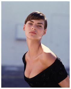 Linda Evangelista 1989 Photo Steven Meisel