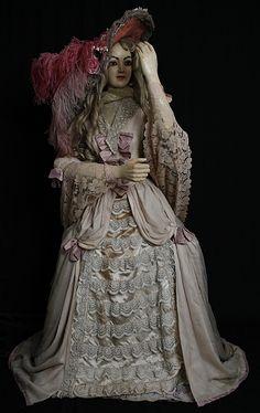 Automaton 18th Century Lady