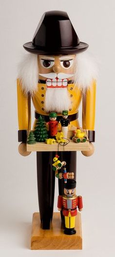 Toysalesman Nutcracker by KWO Olbernhau $140.00 incl. shipping!