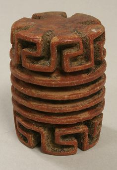 Rolelr Stamp  Date:     5th–6th century Geography:     Costa Rica Culture:     Atlantic Watershed Medium:     Ceramic