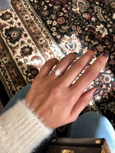 The perfect engagement ring. Oval diamond set in gold with a thin pave diamond b… The perfect engagement ring. Oval diamond set in gold with a thin pave diamond band Perfect Engagement Ring, Wedding Engagement, Wedding Bands, Engagement Bands, Engagement Ring Settings, Wedding Ceremony, Oval Diamond, Diamond Bands, Wedding Inspiration