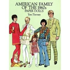 1960's paper dolls - Neru jacket and all