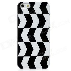 Quantity: 1 Piece; Color: Black white; Material: Plastic; Type: Back cases; Compatible Models: Iphone 5; Other Features: Grid Pattern personalize your device with it; Protects your device from scratches dust and shocks; Packing List: 1 x Case; http://j.mp/1v2E1JT
