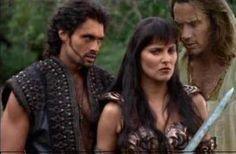 Ares, Xena, & Hercules (Xena: The Warrior Princess)