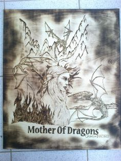 Game Of Thrones PyroArt