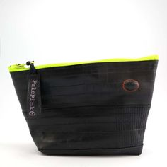 Recycled bicycle inner tube cosmetic pouch container by palepink, kr245.00