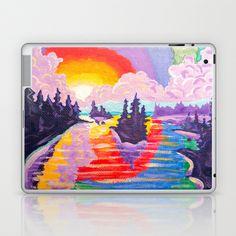80's SUNDOWN Laptop & iPad Skin by Morgan Ralston - $25.00