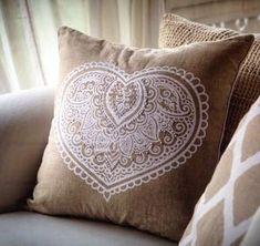 Boho Cushions, Cushions On Sofa, Throw Pillows, Heart Cushion, Living Room Sofa, Cushion Covers, Mandala, Prints, Toss Pillows