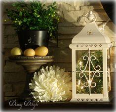 Spring Mantel Display by dining delight, via Flickr