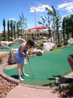 The Putt Park Miniature Golf Course - Las Vegas -