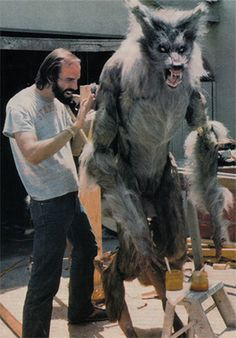 "One of Rob Bottin's werewolves for Joe Dante's ""The Howling"" (1981)"