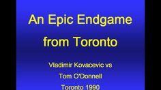 Vladimir Kovacevic vs Tom O'Donnell - Toronto 1990