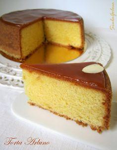 Torta Arluno Torte Cake, Cake & Co, Pastry Recipes, Cake Recipes, Dessert Recipes, Cupcakes, Cookie Bakery, Basic Cake, Small Cake