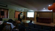 Mr. Abhishek Paul,, representatives Informatics India in User Awareness Programme on J-GATE Basic Sciences ,23rd September, 2016