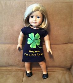 18 inch Doll modeled by American Girl  St. by peggysprozac on Etsy
