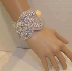 Bridal Bracelet CHARLOTTE Crystal Bridal by BellaCescaBoutique, $30.00