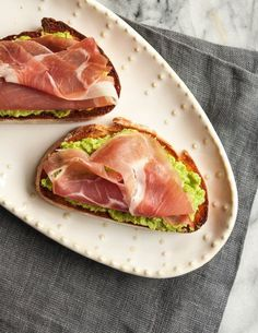 Recipe: Asparagus & Prosciutto Crostini — Appetizer Recipes from The ...