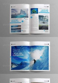 8 newsletter template indesign minimal print Indesign Templates   10 Cool Magazines of 2013