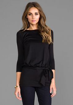 SUSANA MONACO Cassie Tunic in Black