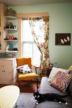 """12 Knockout """"Room for Color"""" Entries: Week One — Room for Color Contest"""