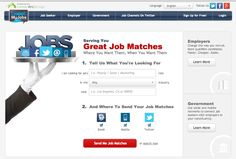 tweetmyjobs.com.. Job search by subscribing to job alerts via twitter/ mail etc.