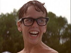 Michael Squints Palladorous of Sandlot.  Tell me you can look at this and not smile.  Nope, you can't. Impossible.