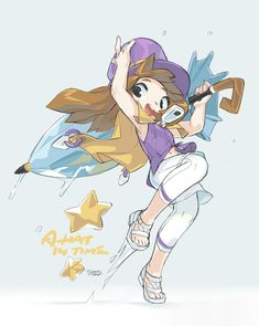 This needs to be a thing. Game Character, Character Design, Gamer Pics, A Hat In Time, Different Art Styles, Cartoon Crossovers, Cute Games, Pretty Art, Girl With Hat
