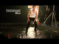 EW - Matt Bomer -Magic Mike.avi.. The way he runs his fingers thru his hair is Def. 50 Shades!! M.Bomer for Christian Grey!!! PLEEEAASSEE!!