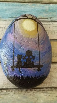 """Stone Painting, Rock Painting, Story Stones, Stone Art, Painted Stones, Rock Art, Silhouettes, Yoga, Pictures. """""""