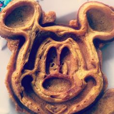 how could you NOT like mickey waffles?