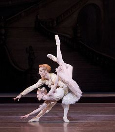 sarah lamb and steven mcrae in sleeping beauty.