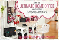 Start your New Year off organized! Organize your home or office with Thirty One!  www.MyThirtyOne.com/wooster