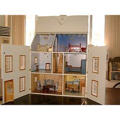 Doll houses, Dolls and Barbie doll house on Pinterest