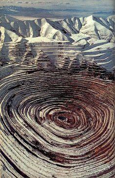 mineral bull's-eye - Utah