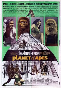 Archives Of The Apes: Planet Of The Apes (1968) International movie posters