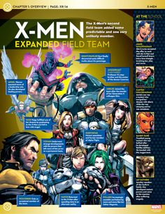 X-Men Expanded Field Team