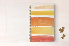 Life in Words Day Planner, Notebook, or Address Book by sweet street gals at minted.com
