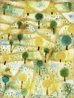 Paul Klee - Small Rhythmic Landscape